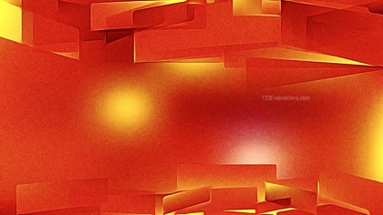 Abstract Shiny Red and Orange Metal Background