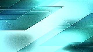 Shiny Turquoise Metal Background