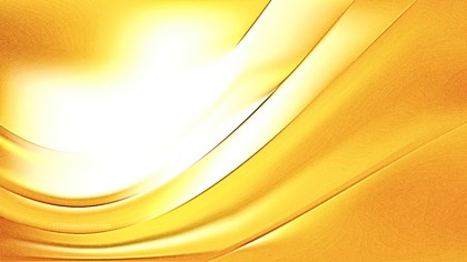 Shiny White and Gold Metal Background