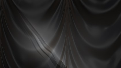 Abstract Black Drapes Texture Background