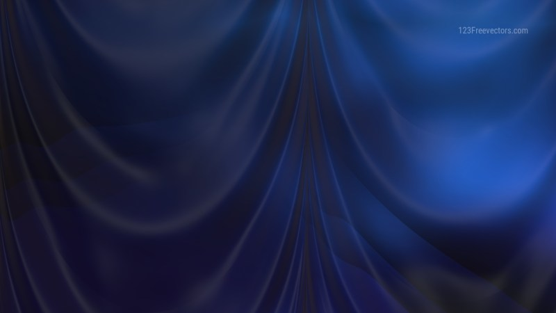 Abstract Black and Blue Curtain Texture Background