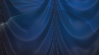 Abstract Black and Blue Satin Drapes Background
