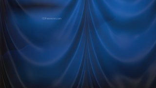 Abstract Black and Blue Drapes Background