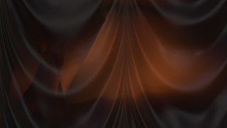 Abstract Black and Brown Satin Drapery Background