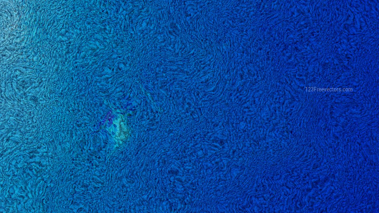Blue Woolen Texture Background