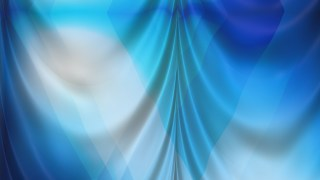 Abstract Blue and Grey Silk Drapes