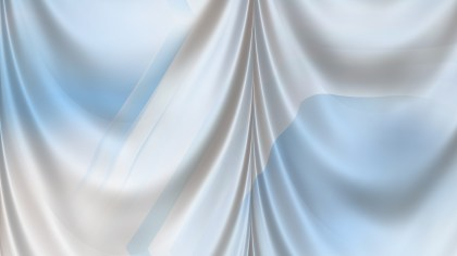 Abstract Blue and White Silk Drapery Background