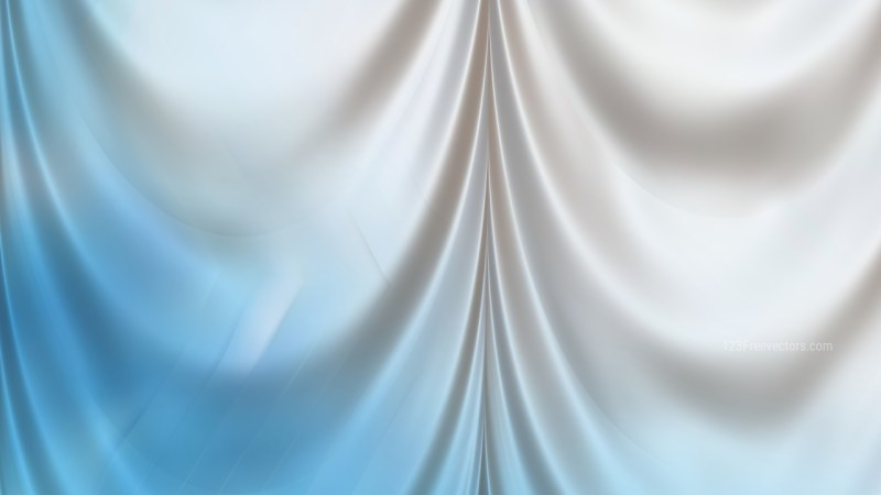 Abstract Blue and White Curtain Texture Background