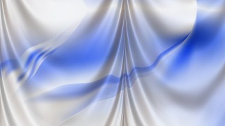Abstract Blue and White Drapery Texture