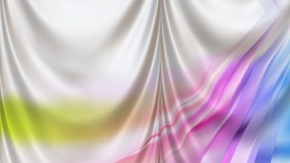 Abstract Colorful Satin Curtain Background Texture
