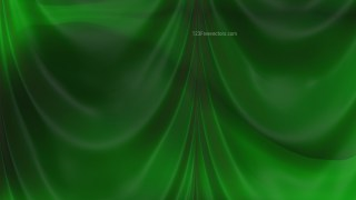 Abstract Dark Green Satin Drapes