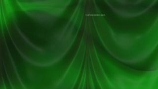 Abstract Dark Green Satin Drapes