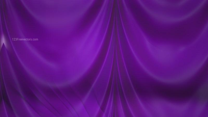 Abstract Dark Purple Silk Drapes Background