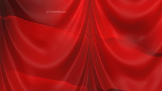 Abstract Dark Red Satin Drapery Textile Background