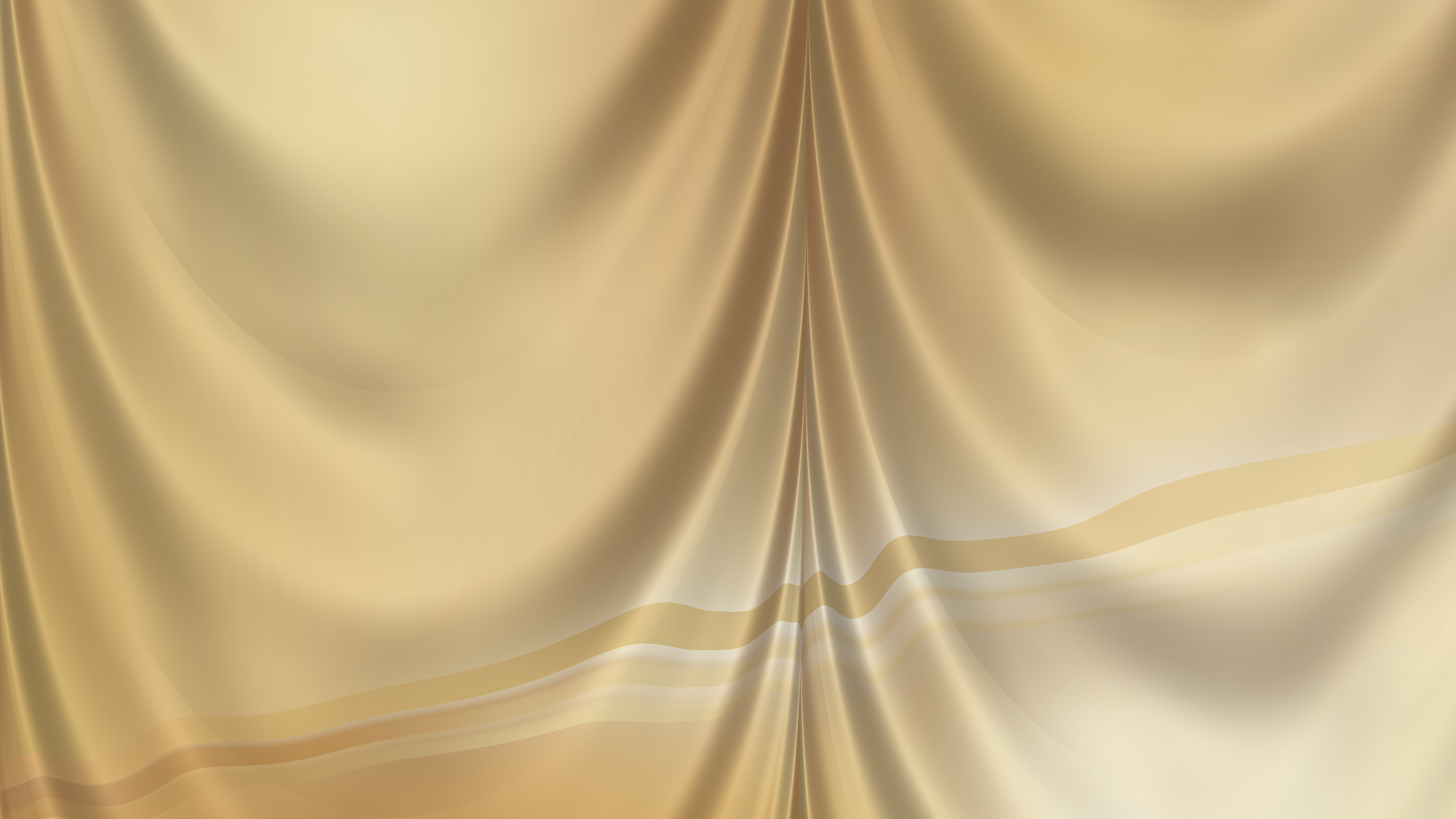 Abstract Gold Curtain Texture Background
