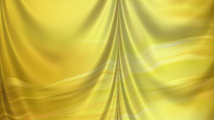 Abstract Gold Silk Curtain Background