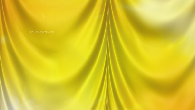 Abstract Gold Silk Drapes
