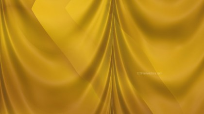 Abstract Gold Silk Drapery Background