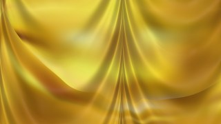 Abstract Gold Silk Drapery Textile Background