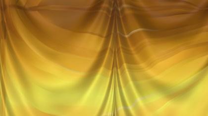 Abstract Gold Silk Drapes