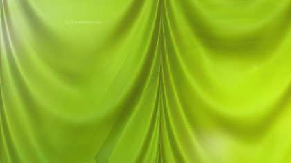 Abstract Green Satin Curtain Background
