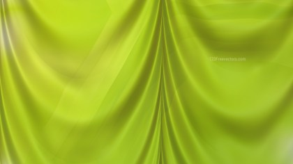 Abstract Green Satin Curtain Background Texture