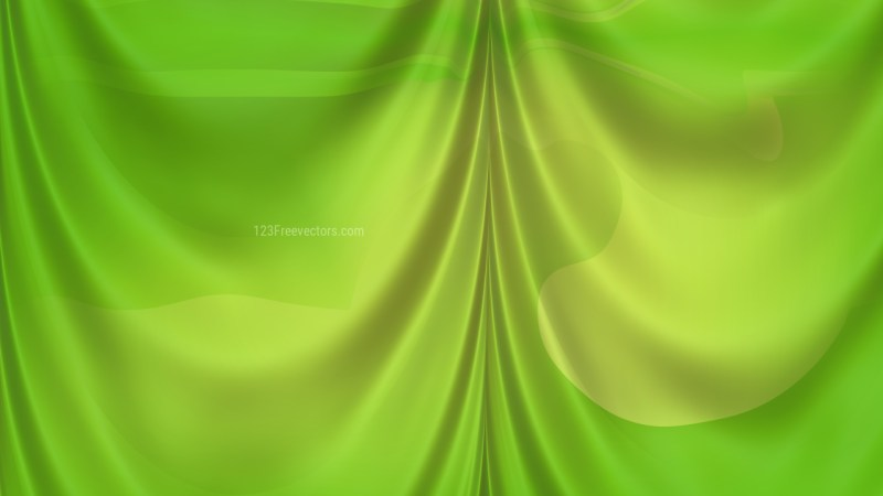 Abstract Green Curtain Texture