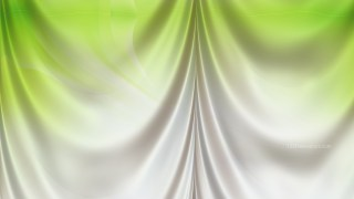 Abstract Green and White Drapery Background