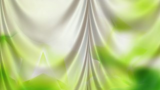 Abstract Green and White Curtain Background