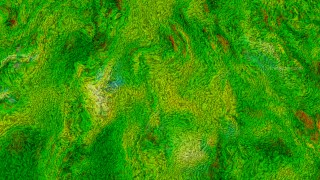 Green and Yellow Carpet Texture Background