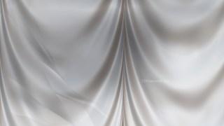Abstract Grey Satin Drapes