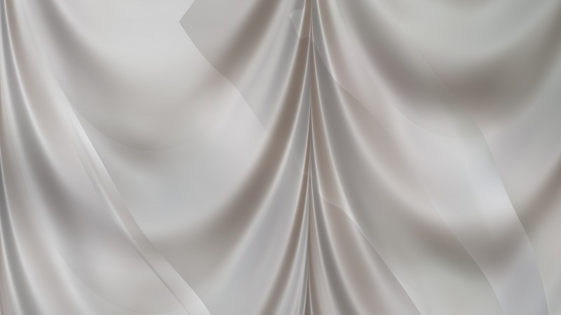Abstract Grey Silk Curtain Background