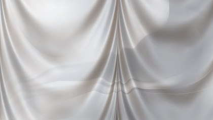 Abstract Grey Satin Drapery Background