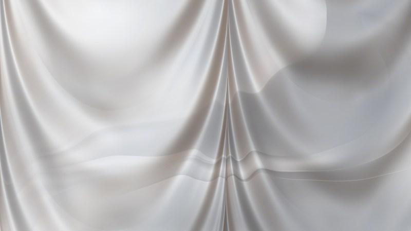 Abstract Grey Satin Drapery Background
