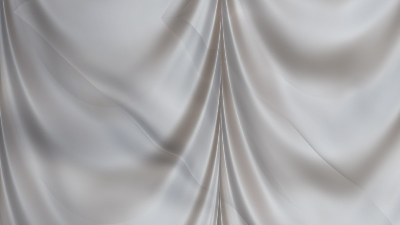 Abstract Grey Silk Curtain Background Texture