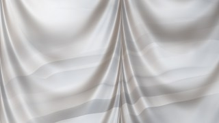 Abstract Grey Silk Drapery Textile Background