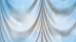 Abstract Light Blue Satin Drapes