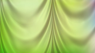 Abstract Light Green Satin Drapery Textile Background