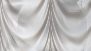 Abstract Light Grey Satin Curtain Background