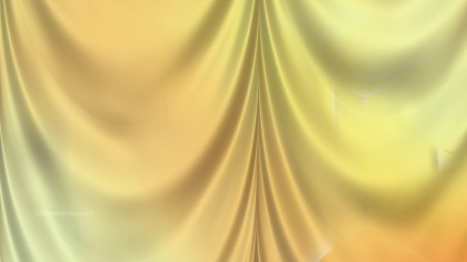 Abstract Light Orange Satin Drapery Background