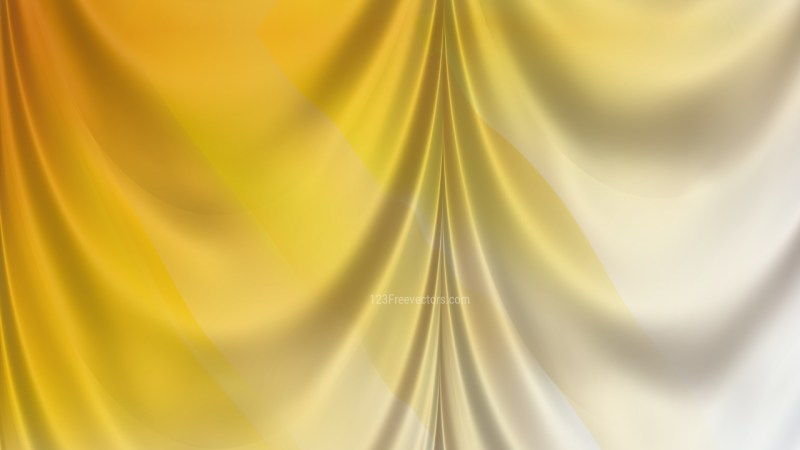 Abstract Light Orange Satin Drapes