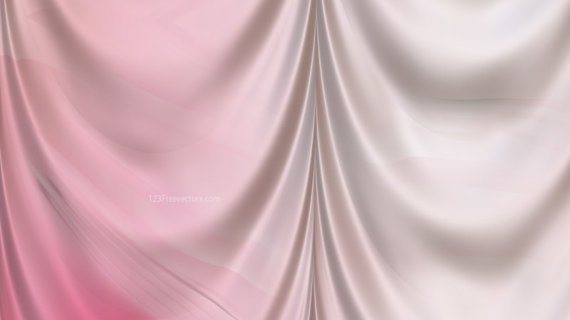 Abstract Light Pink Silk Drapes Background