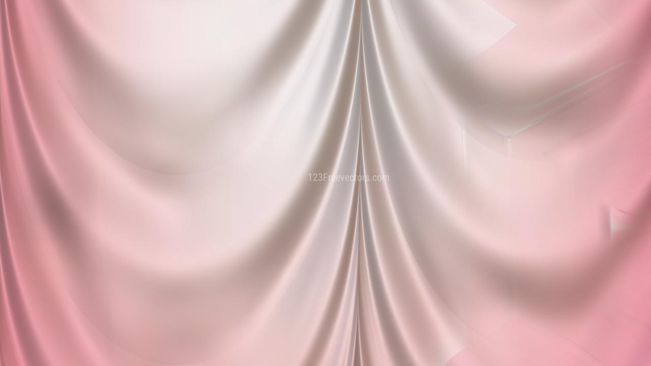 Abstract Light Pink Satin Drapes