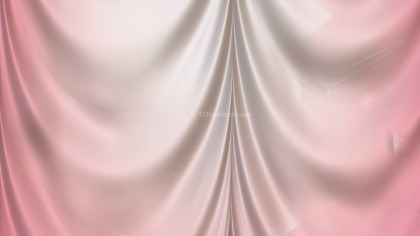 Abstract Light Pink Satin Drapes
