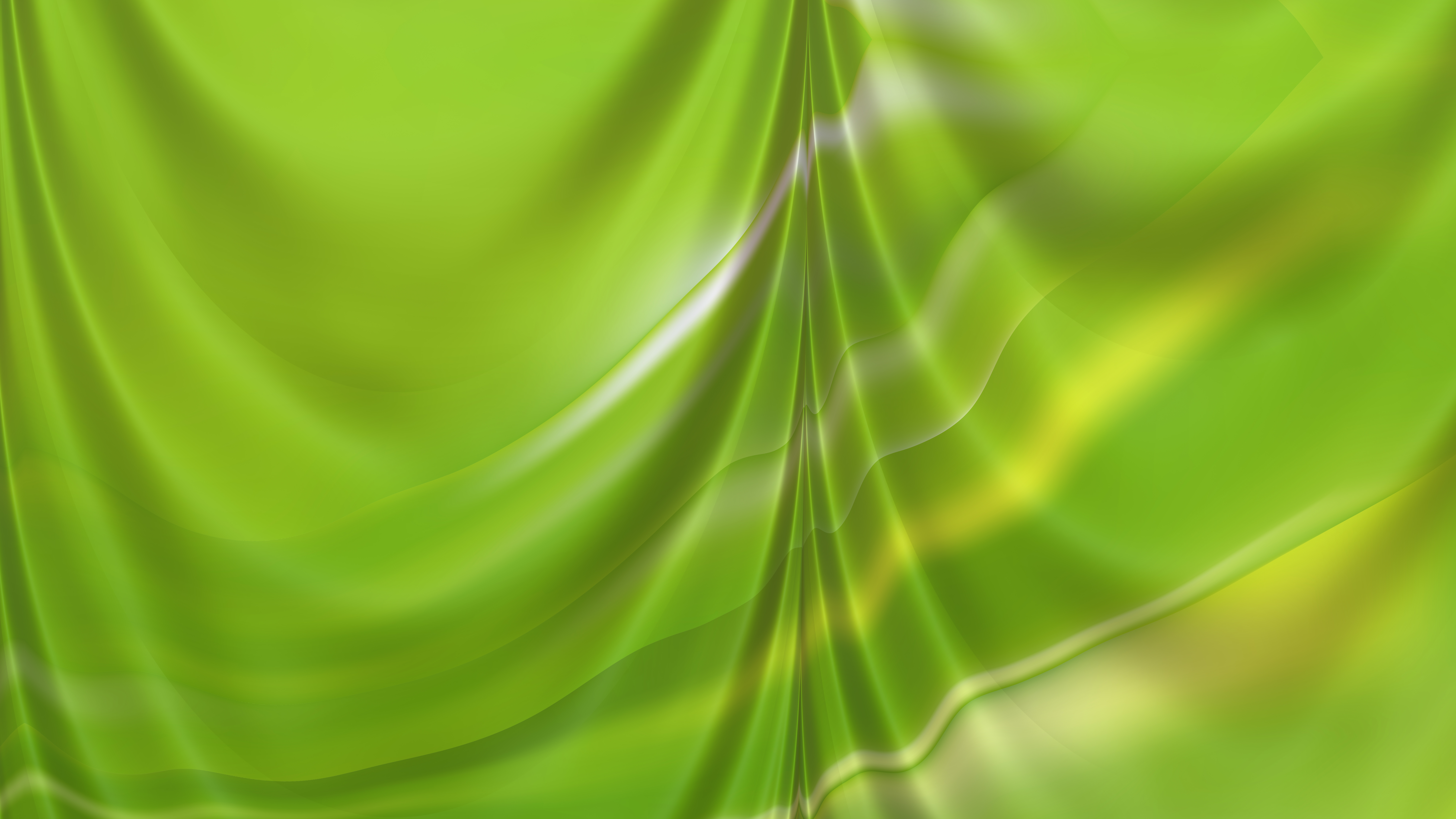 Abstract Lime Green Drapery Background