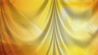 Abstract Orange Silk Drapery Textile Background