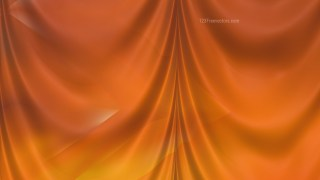 Abstract Orange Curtain Background