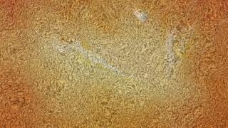 Orange Towel Texture Background