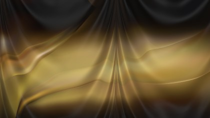 Abstract Orange and Black Silk Drapery Background