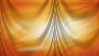 Abstract Orange and Grey Satin Drapes